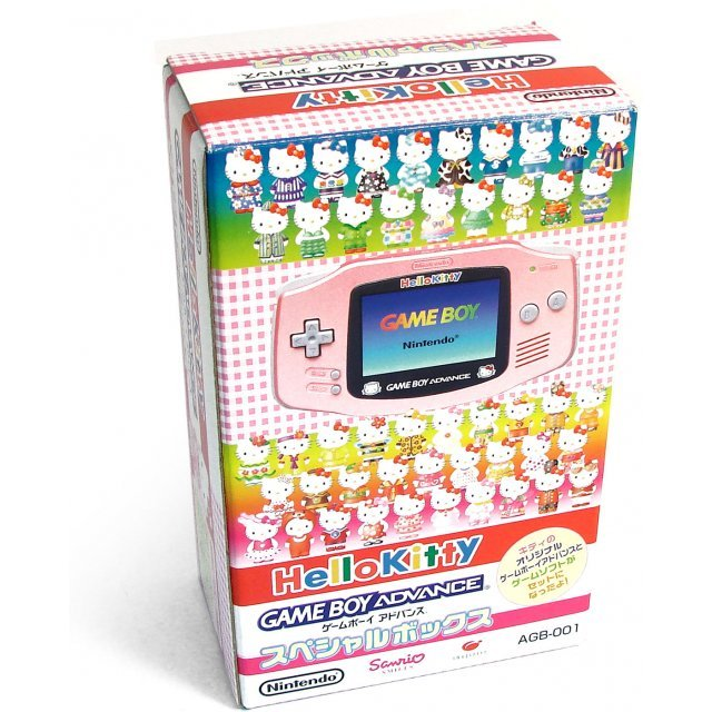 Game Boy Advance Console - Hello Kitty Special Edition