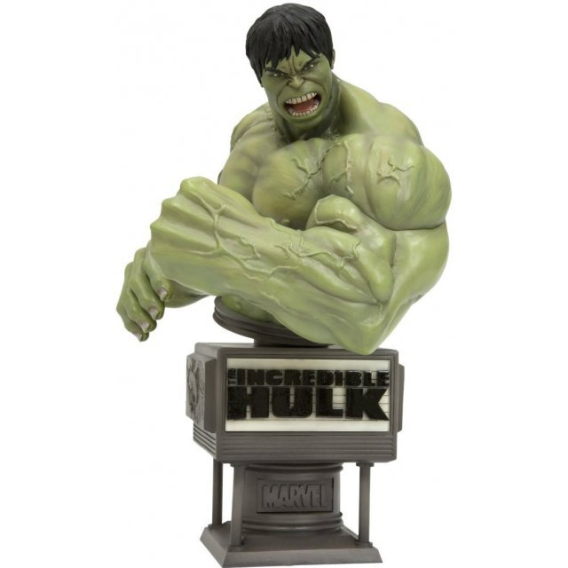 The Incredible Hulk Movie Fine Art Bust Non Scale Pre-Painted Statue: Hulk