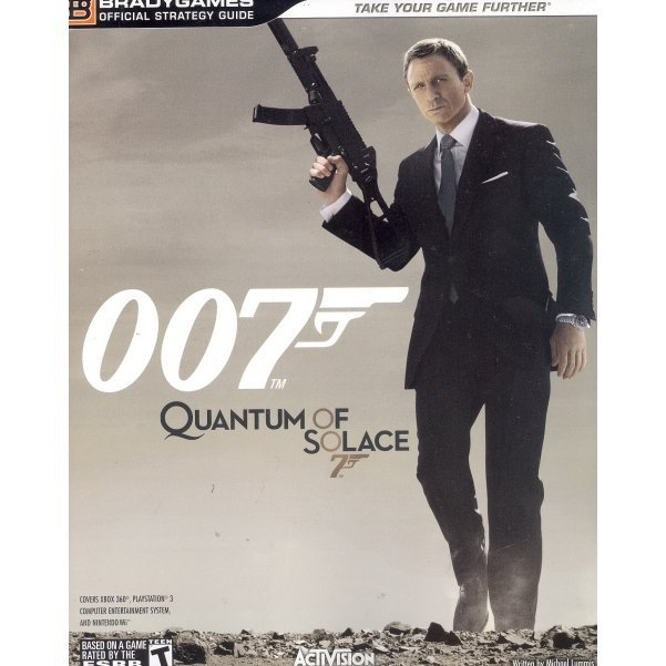 James Bond: Quantum of Solace Official Strategy Guide