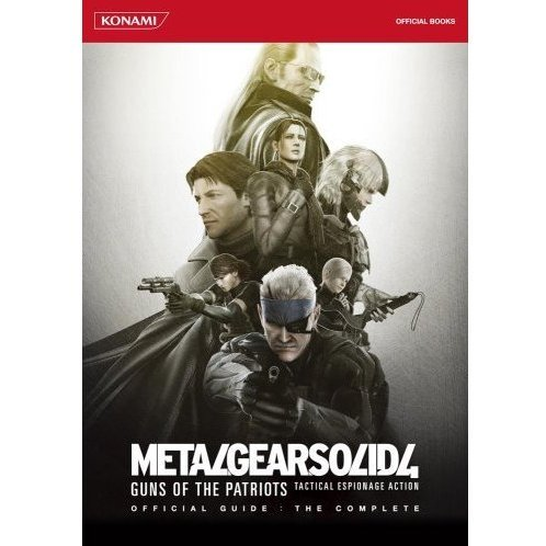 Metal Gear Solid 4: Guns of the Patriots Official Guide: The Complete