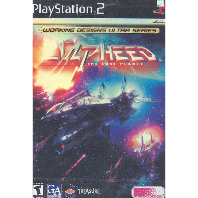 silpheed the lost planet ps2