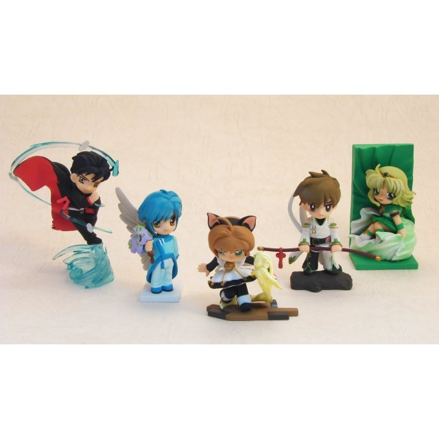 Clamp in 3-D LAND 8th Series PVC Trading Figure