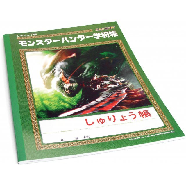 Monster Hunter Note Pad with Time Table