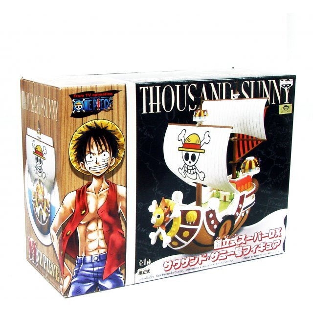 One Piece Non Scale Pre-Painted Figure: Thousand Sunny Ship