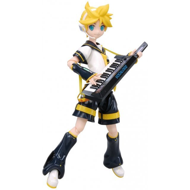 Character Vocaloid Series 02 Non Scale Pre-Painted PVC Figure: figma Kagamine Len