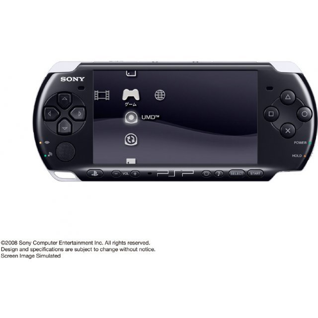 PSP PlayStation Portable Slim & Lite - Piano Black (PSP-3000PB)