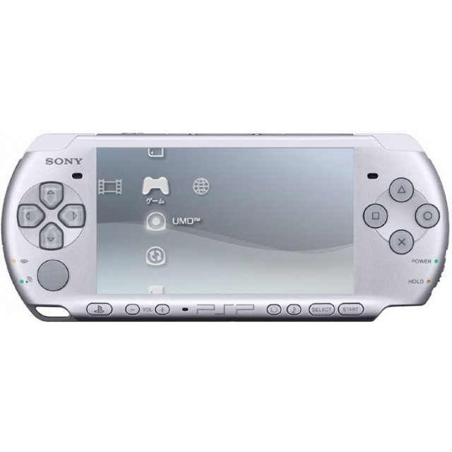 PSP PlayStation Portable Slim & Lite - Mystic Silver (PSP-3000MS)