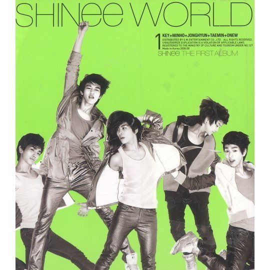 Shinee Vol.1 - The Shinee World [Version A]