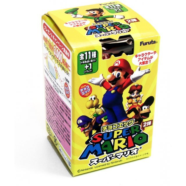 Super Mario Bros. Chocolate Egg Furuta 2nd Edition Candy Toy