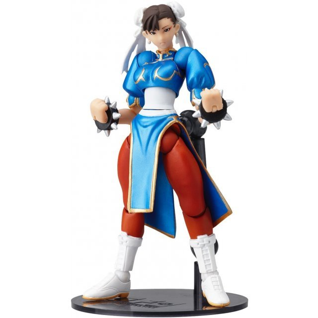 Revoltech SFO Series No.003 Non Scale Pre-Painted PVC Figure: Chun Li