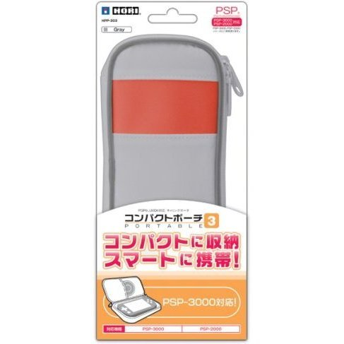 Compact Pouch Portable 3 (Gray)