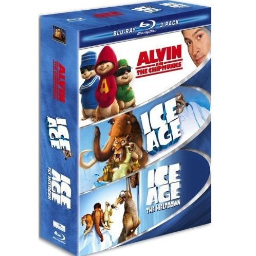 Family 3 Pack Alvin And The Chipmunks Ice Age Ice Age The