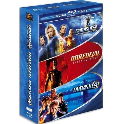 Marvel Blu-ray 3-Pack (Fantastic Four / Fantastic Four - Rise of the Silver Surfer / Daredevil)