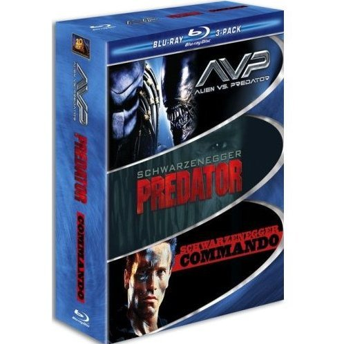 Muscle Blu-ray 3-Pack (AVP Alien vs. Predator / Predator / Commando)