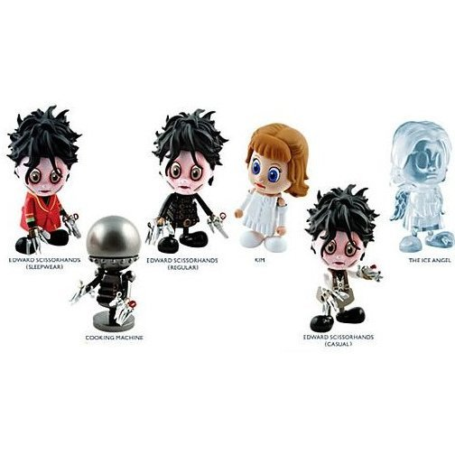 Cosbaby Edward Scissorhands Non Scale Pre-Painted Trading Figure
