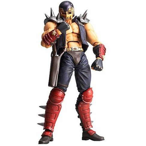 Revoltech Fist of The North Star Revolution No. 005 Non Scale Pre-Painted PVC Figure: Jagi