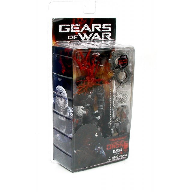 Gears of War Series 2 Pre-Painted Action Figure: Locust Drone (Limited Figure)