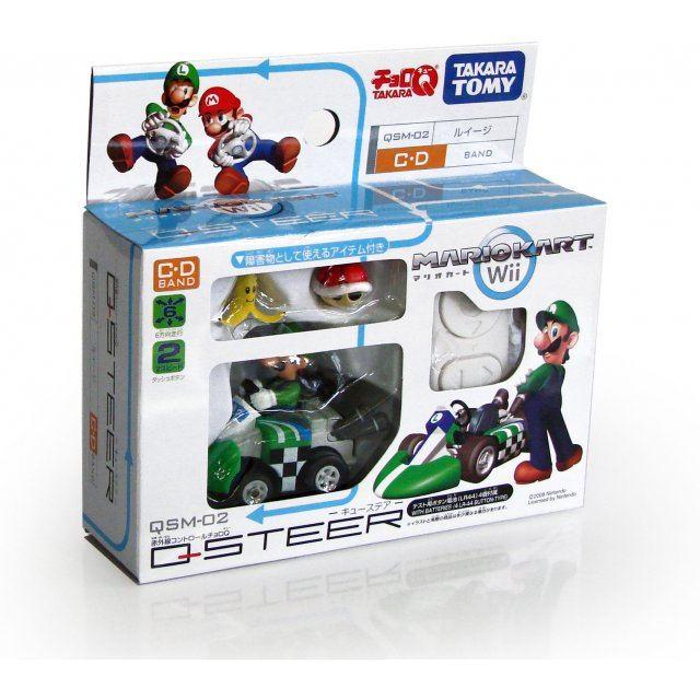 Q Steer R C Mario Kart Wii Luigi