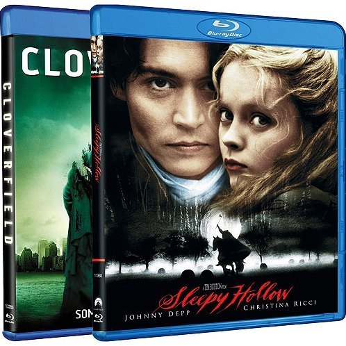 Cloverfield / Sleepy Hollow (Blu-ray 2-Pack Side by Side)