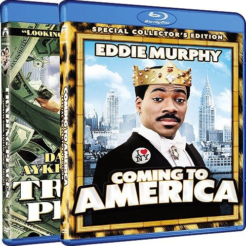Coming to America / Trading Places (Blu-ray 2-Pack Side by Side)