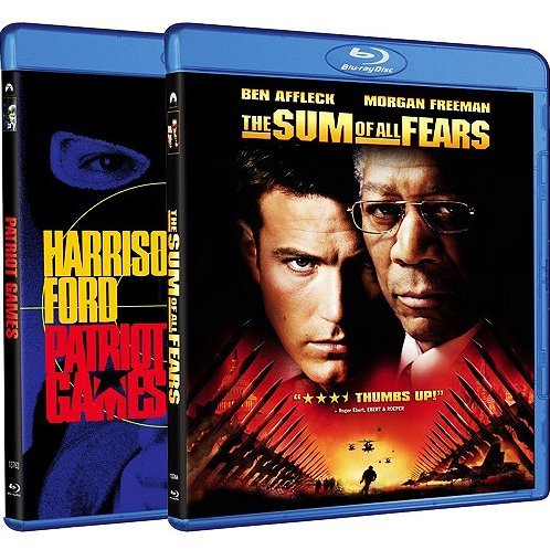 Patriot Games / Sum of All Fears (Blu-ray 2-Pack Side by Side)