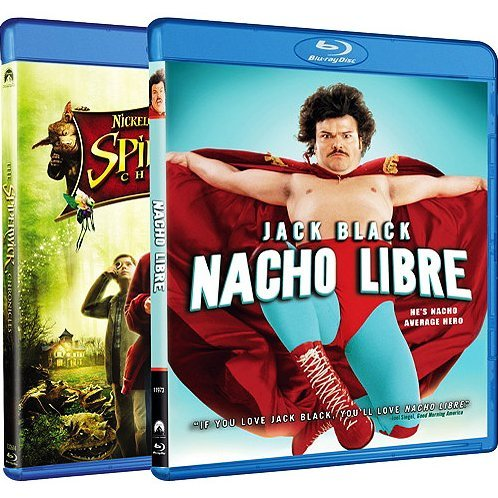 Spiderwick Chronicles / Nacho Libre (Blu-ray 2-Pack Side by Side)