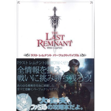 The Last Remnant The Perfect Bible
