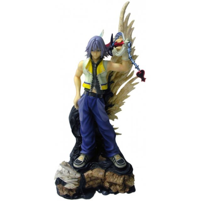 Kingdom Hearts II Static Arts Non Scale Pre-Painted PVC Figure: Riku