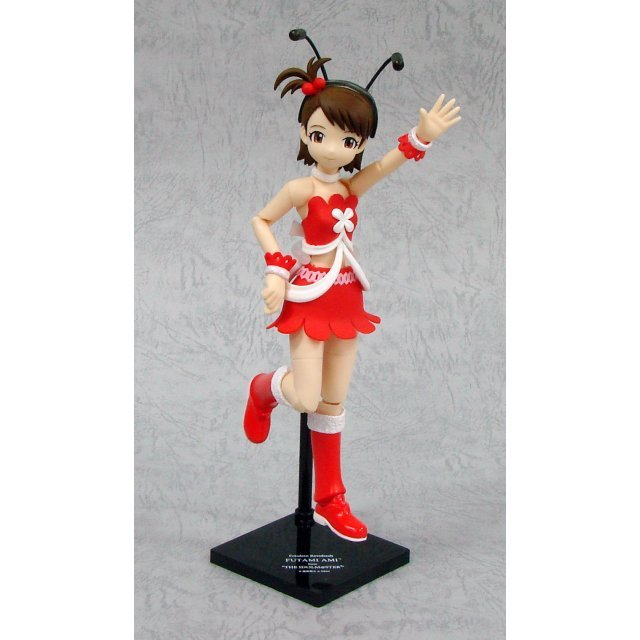 Fraulein Revoltech Series No. 007 - Idol Master 1/10 Scale Pre-Painted PVC Figure: Futami Ami (Hobby japan Limited Red Version)