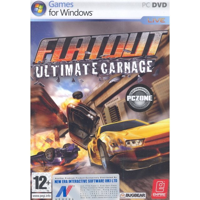 FlatOut: Ultimate Carnage (DVD-ROM)