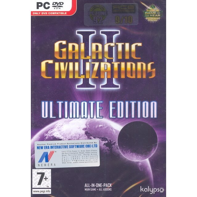 Galactic Civilizations 2 Ultimate Edition (DVD-ROM)