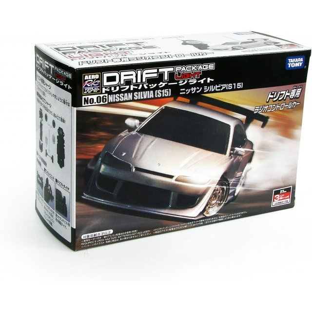 Aero R/C Drift Package Light: No.6 Nissan Silvia (S15)