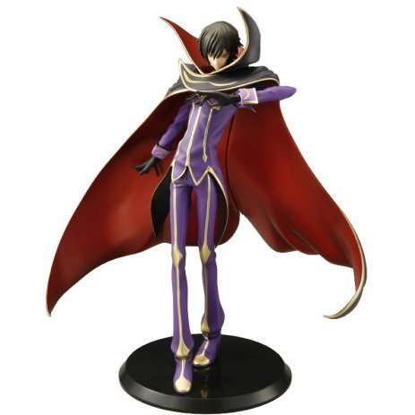 GEM Series Code Geass Lelouch of the Rebellion R2 1/8 Scale Pre-Painted Figure: Zero (Re-run)