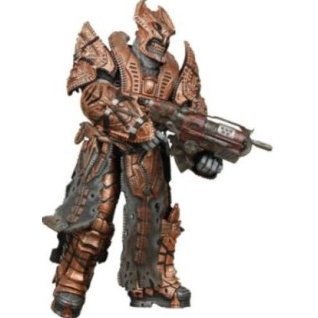 Gears of War Series 3 Pre-Painted Action Figure: Theron Palace Guard