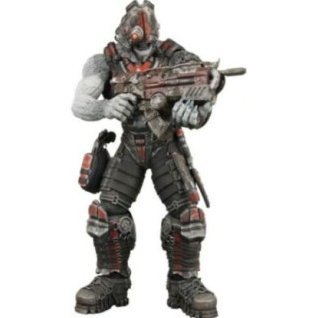 Gears of War Series 3 Pre-Painted Action Figure: Locust Cyclops