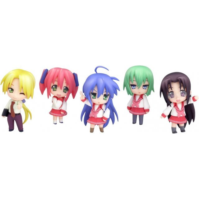 Nendoroid Petit Lucky Star Season 2 Non Scale Pre-Painted PVC Trading Figure (Re-run)