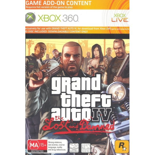 Grand Theft Auto IV: The Lost & Damned (Download Card)