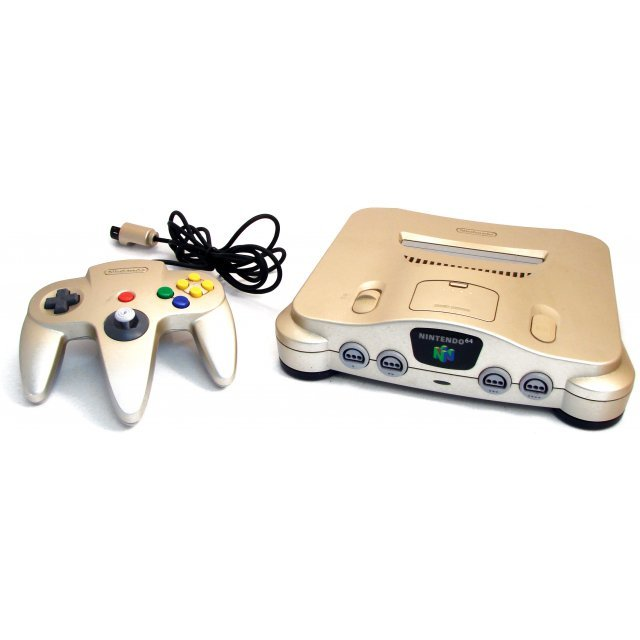 Nintendo 64 Console - gold (loose)