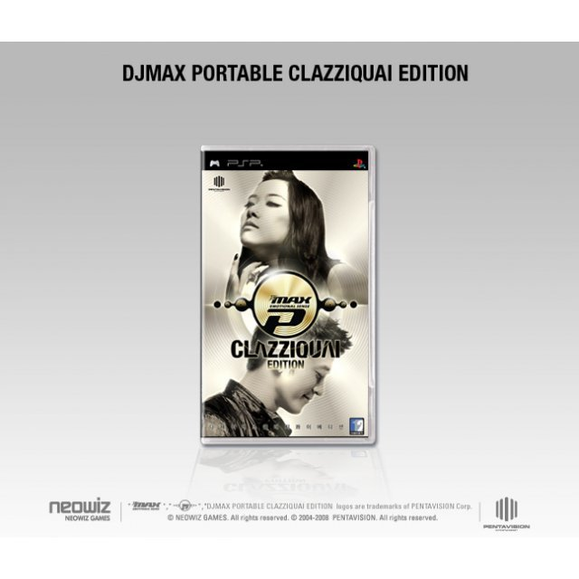 DJ Max Portable Emotional Sense - Clazziquai Edition [vertical cut on front cover]