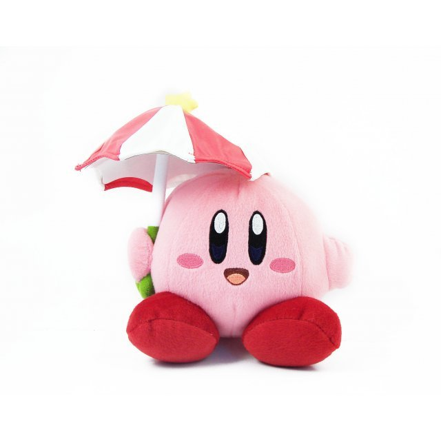 Kirby Adventure Kirby Plush Doll: Parasol Kirby