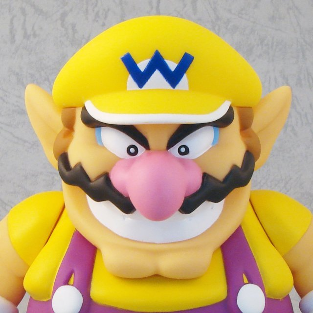Super Mario Characters Figure In Blister 3 Pre-Painted Figure: Wario