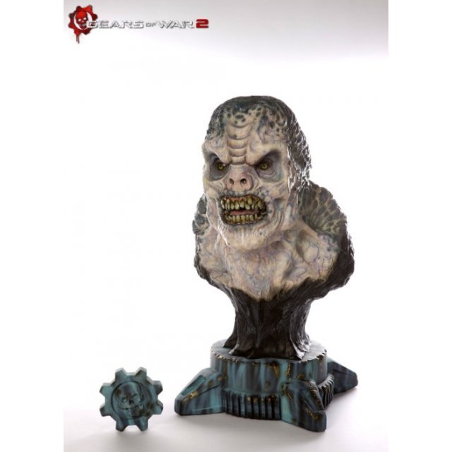 Gears of War 2 Pre-Painted Statue: Locust Drone Design Maquette