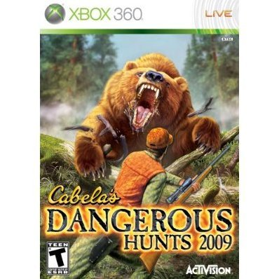 Cabela's Dangerous Hunts '09 (box damaged)