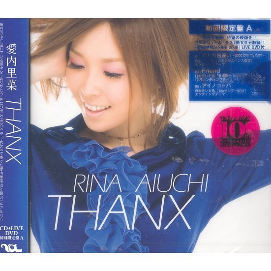 Thanx [CD+DVD Limited Edition Type A]