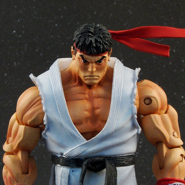 Street Fighter IV Series 1 Action Figure: Ryu (Open Box)
