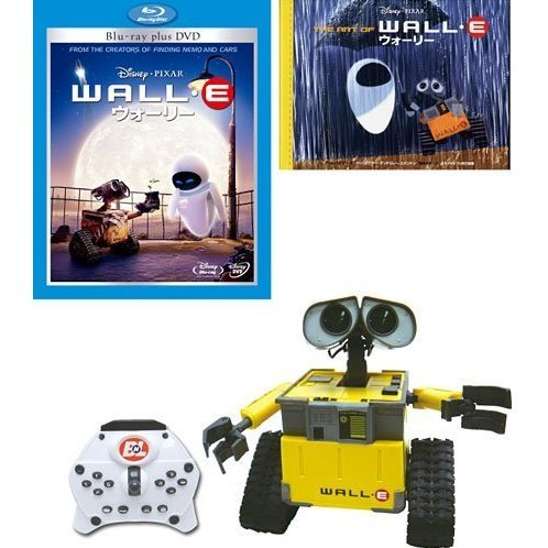 Wall E Collector's Box [2Blu-ray+DVD Limited Edition]