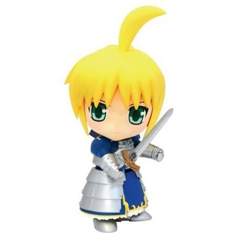 Fate/stay night Non Scale Pre-Painted Soft Vinyl Figure: Saber