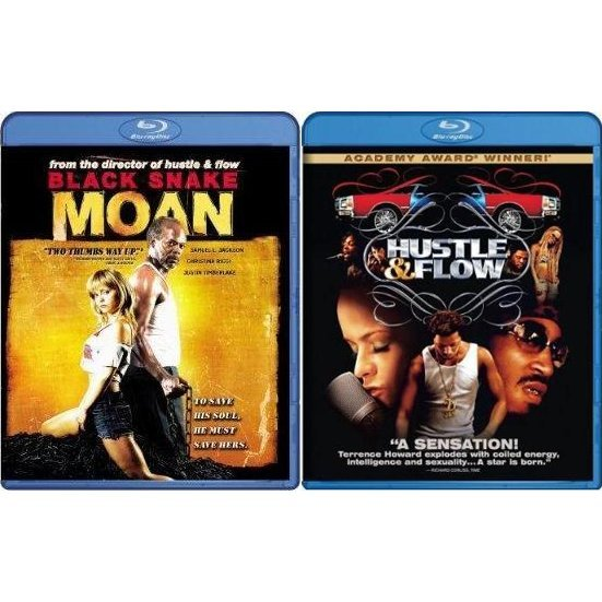 Hustle and Flow / Black Snake Moan (Blu-Ray 2-pack Side by Side)