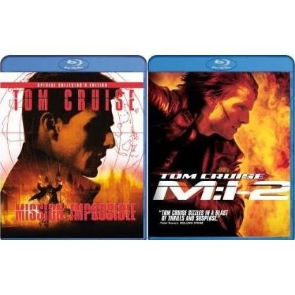 Mission: Impossible and Mission: Impossible 2 (Blu-Ray 2-pack Side by Side)