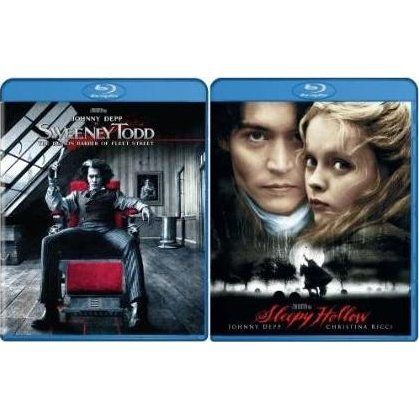 Sweeny Todd and Sleepy Hollow (Blu-Ray 2-pack Side by Side)